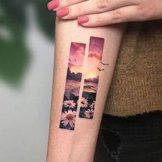 Eden Kozo (Known kozo_tattoo) is a tattoo artist based in Kiryat Ono, Israel. Eden Kozo make tattoos mini color. He is a very talented tattoo artist # idéesdetatouage Red Tattoos, Pretty Tattoos, Mini Tattoos, Love Tattoos, Beautiful Tattoos, Body Art Tattoos, Small Tattoos, Tattoos For Women, Tattos