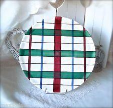 Große Kuchenplatte / Tortenplatte Schramberg Keramik, Dekor Dundee Ø 36cm