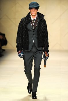 Burberry Prorsum Fall 2012 Menswear Collection Slideshow on Style.com