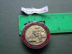 London Chest Hospital nurse/nursing badge