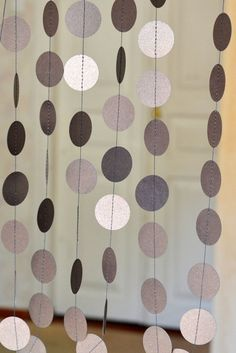 Bronze circle garland Wedding Birthday Decor Baby Shower