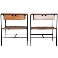 Pair of Nightstands by Paul McCobb | From a unique collection of antique and modern night stands at http://www.1stdibs.com/furniture/tables/night-stands/
