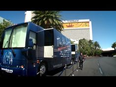 The John Lennon Educational tour bus Loves the Magic Switchable glass from ElmontGlass.com