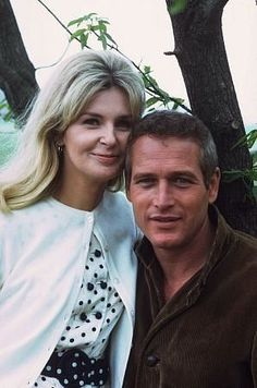 Joanne Woodward and Paul Newman                              …