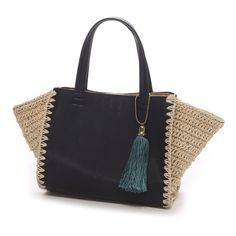 cache cache side crochet bag
