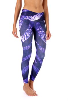 Purple Zebra Leggings These beautiful Brazilian leggings are super fun and durable providing a four way stretch and a body slimming design! Features: Wide waistband Suitable for Running, Yoga, Pilates, Working Out, Dance, cycling and More Pilling resistant Quick Dry Superior polyester Cool, thick and soft material Size Chart: S/M 0-6 (US) M/L 6-10 (US) L/XL 10-14 (US)