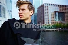 Search for Stock Photos of Man Young Adult Professional English Outdoors on Thinkstock
