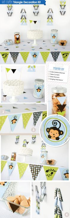 70-Piece Party Decoration Kit: DIY Party Craft Ideas