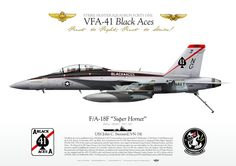 "UNITED STATES NAVY VFA-41 ""Black Aces"" USS John C Stennis (CVN-74) F/A-18F VFA-41 ""Black Aces"" CAG 2011 JP-1183"
