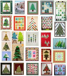 Free pattern day: Christmas Trees
