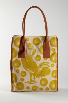 Loquita Rooster Tote...I'd ask my boyfriend to hold my cock bag all the time!