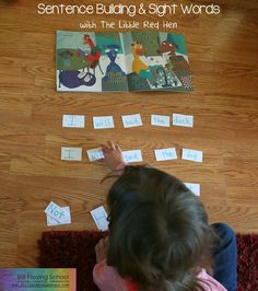 Still Playing School: Sentence Building & Sight Words with The Little Red Hen