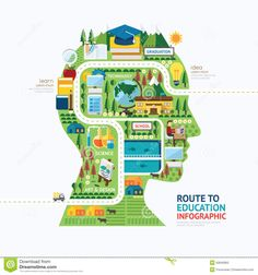 anatomy of infographic cartoon education - Google Search