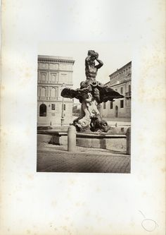 Piazza Barberini 1870