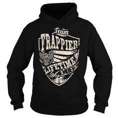 Cool Last Name, Surname Tshirts - Team FRAPPIER Lifetime Member Eagle T-Shirts