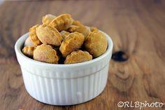 The Curious Country Cook....: Pumpkin PB Dog Treats