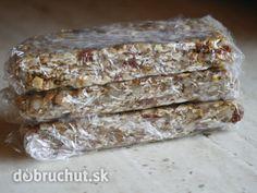 Nepečené musli tyčinky Bread, Fitness, Food, Brot, Essen, Baking, Meals, Breads, Buns