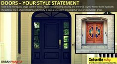 #Doors – Your style statement