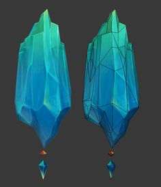Crystal Environment - Old Noob Challenge - Polycount Forum