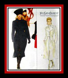 YVES SAINT LAURENT Vogue Paris Original by FarfallaDesignStudio, $60.00