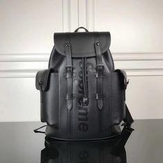 9238f74eec61 Louis Vuitton Supreme Christopher Backpack –Black Louis Vuitton Backpack