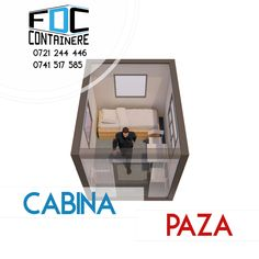 Cabina de paza.Imagine de perspectiva. Dimensiuni: 3m Lungime x 1,9m Latime x 2,7m Inaltime. Izolata termic. Mai multe detali pe www.containere-fdc.ro/containere-cabine-paza/  #modular #modularbuilding #modularconstruction #smartbuilding #officespace #officedesign #officedesigntrends #3dmodeling #containeroffice #containeroffices #containerbuilding #modularcontainer #modularoffice #modulardesign #modulararchitecture #guardian #guardtower #safetyfirst #staysafe