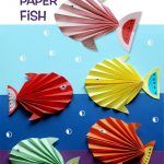 Accordion-Fold Paper Fish