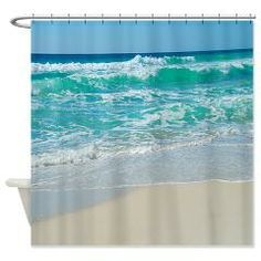 Beach Waves Shower Curtain Curtains Store