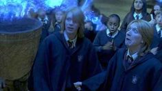 And they also tried to illegally enter the Triwizard Tournament. | 28 Reasons Fred And George Are The Best Characters In The Harry Potter Series