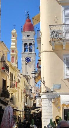 Greece Travel Inspiration - Corfu Town, Ionian Sea, Greece. Our tips for 25 Fun Places to Visit in Greece