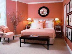 Coral bedroom color schemes coral bedroom color schemes traditional coral peach bedroom interior french doors with . Small Room Bedroom, Bedroom Colors, Living Room Bedroom, Modern Bedroom, Trendy Bedroom, Diy Bedroom, Bedroom Furniture, Minimalist Bedroom, Girls Bedroom