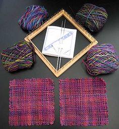 Weavette blanket with Koigu yarn