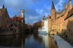 Windy canals through this city. Online Checks, Bruges, Us Travel, Places Ive Been, City, Euro, Rest, Train, Zug