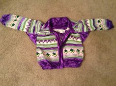 Original Artisan Oseola Seminole Miccosukee Patchwork Jacket - P. Ifandy Collection