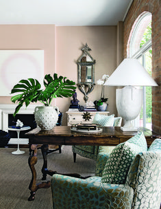 Interiors: Houston Home of Kristen Nix - Interiors. Fashion. Modern. Glamour. - Sukio