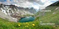 lake gufelsee in tirol austria