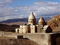 The seventh-century Armenian church of St. Thaddeus in Azerbaijan Province, Iran, is one of three monasteries in northwestern Iran given World Heritage status by the UN in July 2008. St. Stepanos Church and the Chapel of Dzordzor were also added to the list.