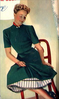 The 1930s-1939 Marie-Claire fashion