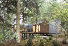 Eco Resort #portugal #architecture #nature #house #forest #trees #green
