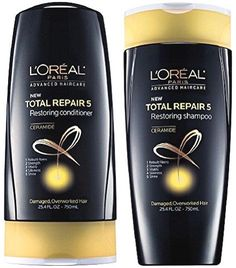 L'Oreal Advanced Haircare Total Repair 5 Restoring, DUO Set Shampoo + Conditioner, 25.4 Ounce, 1 Each  BUY NOW     $18.89    Our listing is for 25.40 oz. each bottle.DUO SET Shampoo and Conditioner 25.4 Ounce, 1 Each Instantly and over time helps repa ..  http://www.beautyandluxuryforu.top/2017/03/05/loreal-advanced-haircare-total-repair-5-restoring-duo-set-shampoo-conditioner-25-4-ounce-1-each/