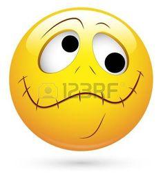 chut: Smiley Illustration Vecteur - Lip Locked Illustration
