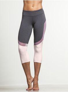 2d7f4d3d31da6 Alo Yoga · Curvature Capri Pink Clouds, Fitness Fashion, Workout Attire,  Active Wear, Capri Leggings