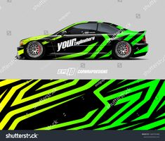 Find Car Wrap Decal Designs Abstract Racing stock images in HD and millions of other royalty-free stock photos, illustrations and vectors in the Shutterstock collection. 3d Racing, Vinyl Wrap Car, Vehicle Signage, Graffiti Pictures, Car Tattoos, Drift Trike, Rc Autos, Bike Design, Car Wrap