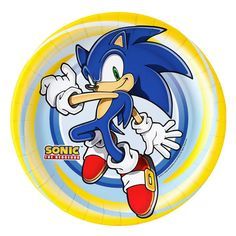 Sonic the Hedgehog Dinner Plates from BirthdayExpress.com