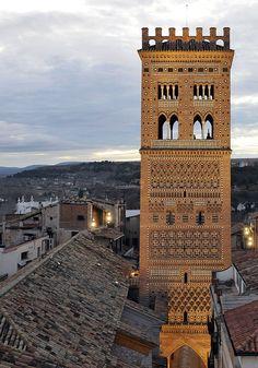 Teruel, Aragon, Spain from: Blog de Óscar Pardo de la Salud.: HISTORIA DE UNA ESCALERA EN LA CIUDAD DE TERUEL (Hablando de la Escalinata)