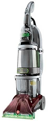 The #Hoover #F7222-9RM is a wide path carpet cleaner that will clean the carpets in your home as well as a commercial cleaner. The #F7222-9RM uses #SpinScrub technology to deep clean carpets and also allows you to use custom settings for a variety of cleaning needs (spill pickup, gentle scrub, and power scrub mode).