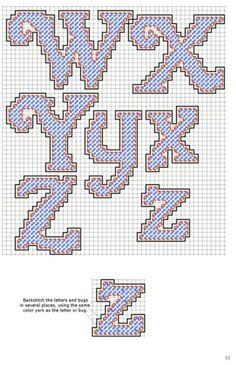 Alphabet Letters Cursive W-Z