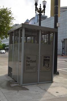 The Portland Loo Public Restroom in Downtown - Portland, OR