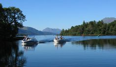 Loch Lomond is a freshwater Scottish loch which crosses the Highland Boundary Fault. It is the largest inland stretch of water in Great Britain by surface area.