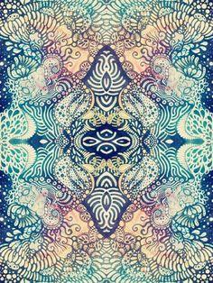 Colores, formas y patrones; una forma de expresión del artista